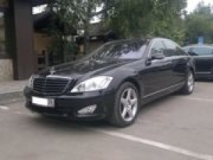 MERCEDES S 500 LONG (W221) (2015) - 4 places